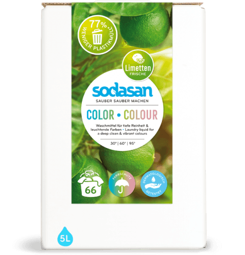 Colour Lime sodasan Laundry Liquid (1526_EN)