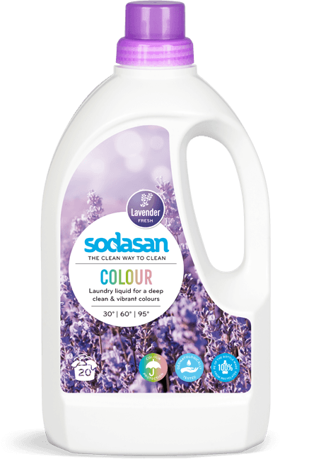 sodasan Laundry Liquid Colour Lavender