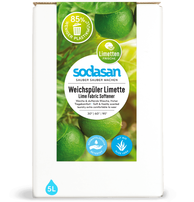 sodasan Fabric Softener Lime