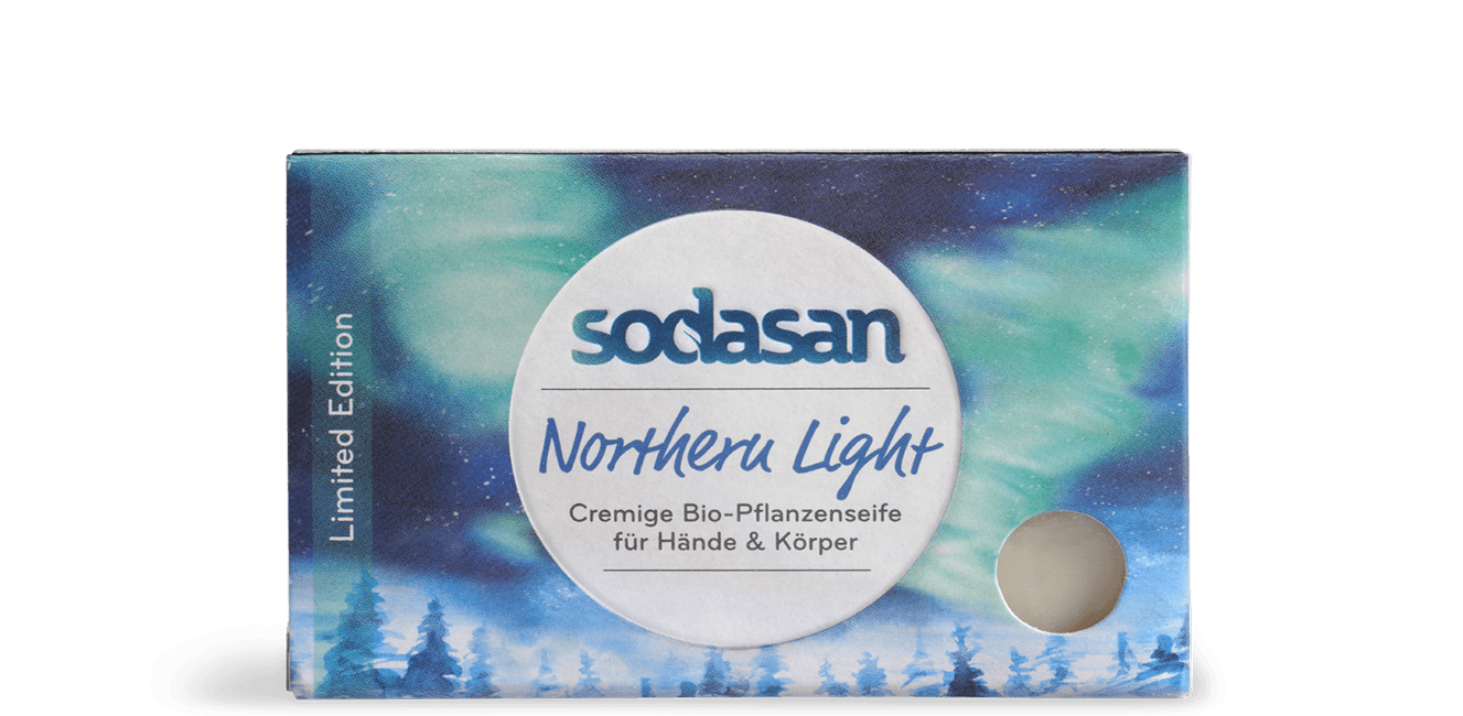 sodasan Feste Seife Northern Light Limited Edition